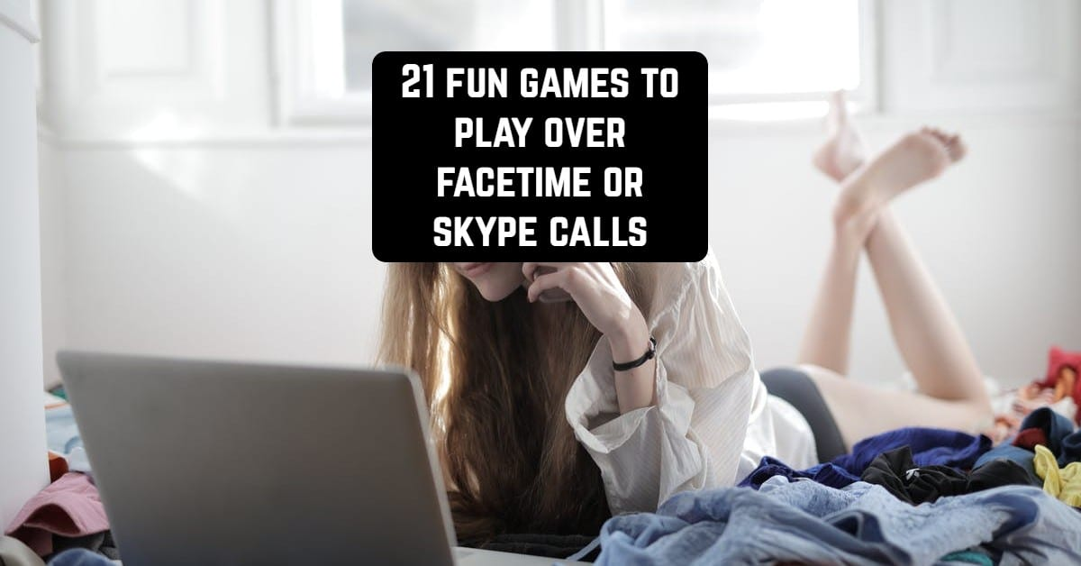 games over skype facetime