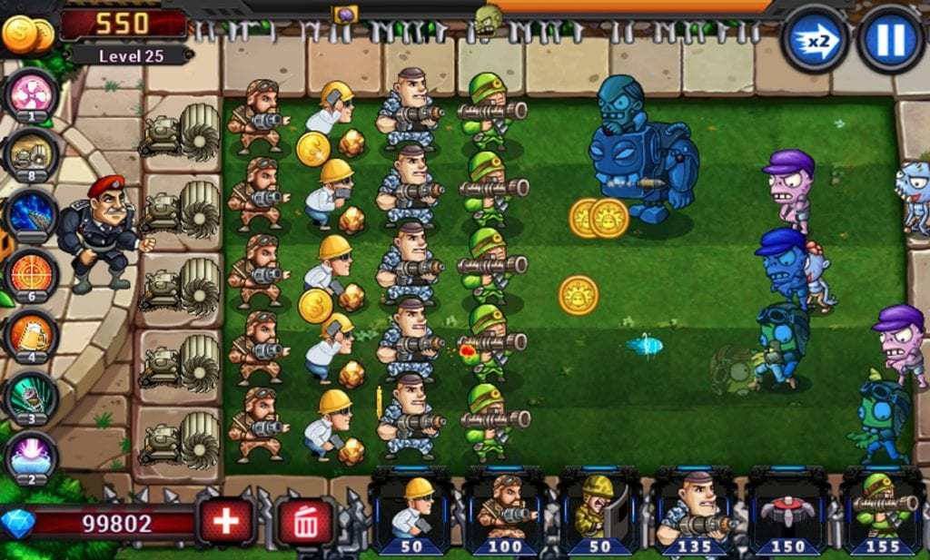 Army vs Zombies app