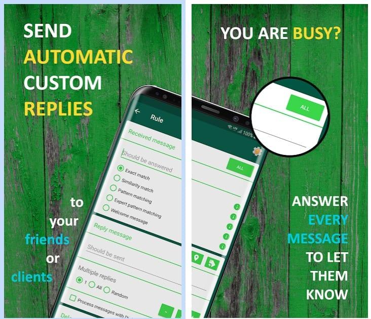 AutoResponder for WA app