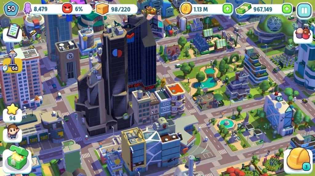 City Mania app