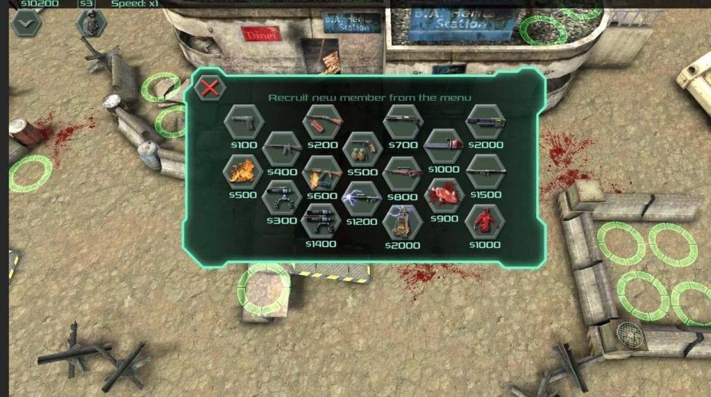 Zombie Defense app