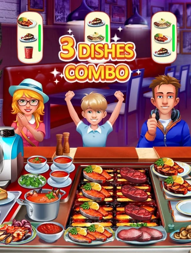 Cooking Craze app