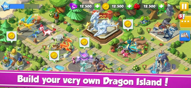 Dragon Mania Legends app