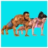 3D Push Ups Home Workout