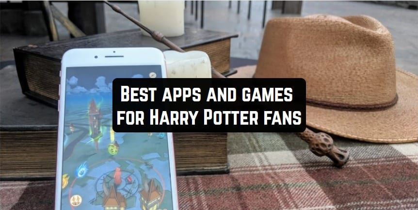 Best apps & games for Harry Potter fans