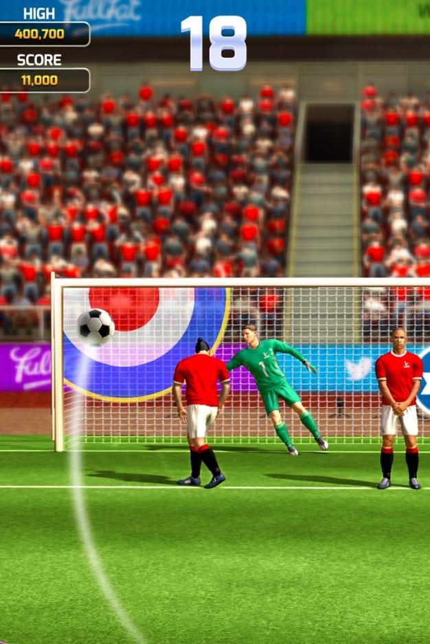 Flick Soccer 19 app