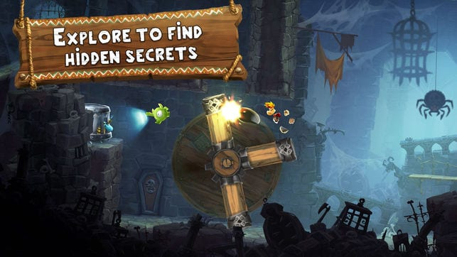 Rayman Adventures app review