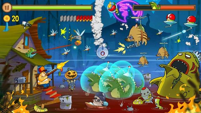 Swamp Attack app