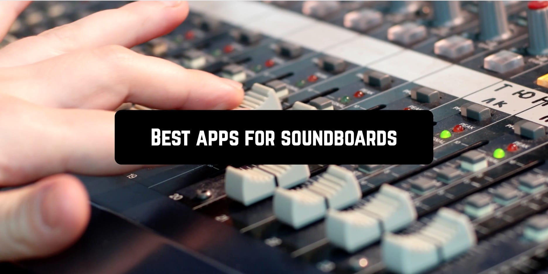 Best apps for soundboards