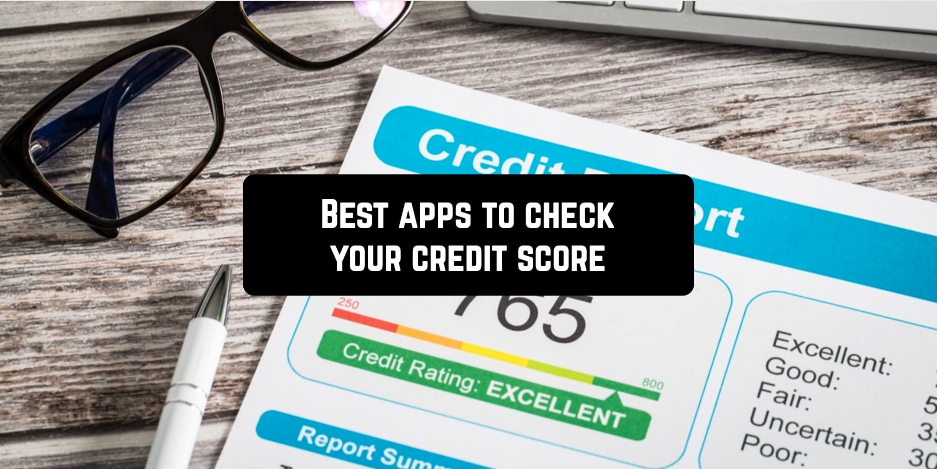 Best apps to check your credit score