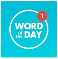 Word of the day— Daily English dictionary app