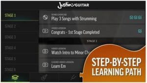 Justin Guitar Beginner Course