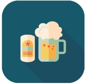 Picolo drinking game logo