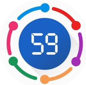 Tabata interval timer & basic fit coaches training logo