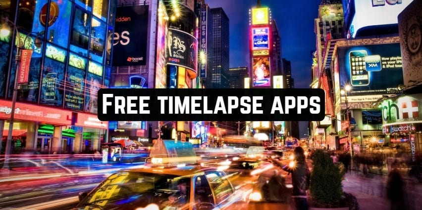 Free timelapse apps