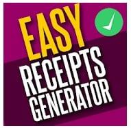 Easy Receipt Generator, Receipt & Invoice Maker