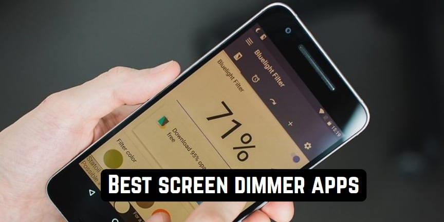 Best screen dimmer apps