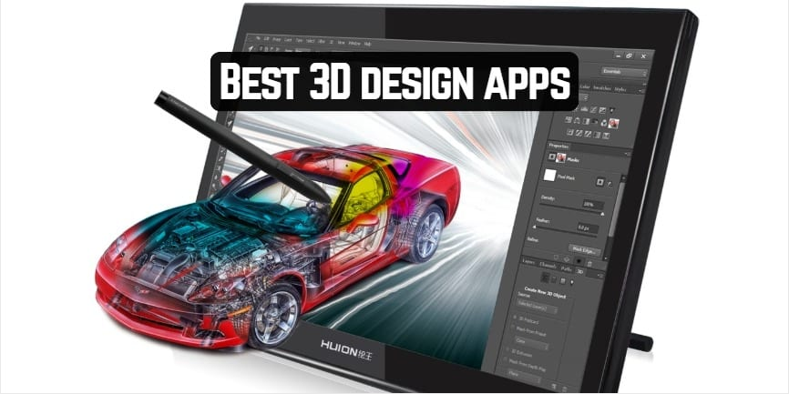 Best 3D design apps