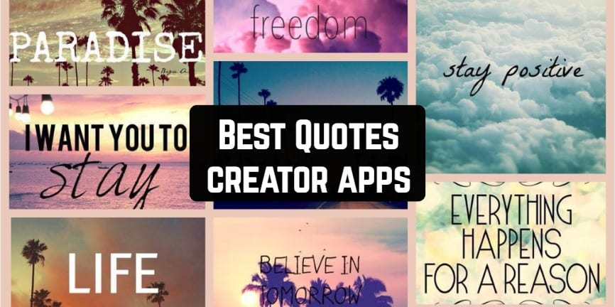 Best Quotes creator apps