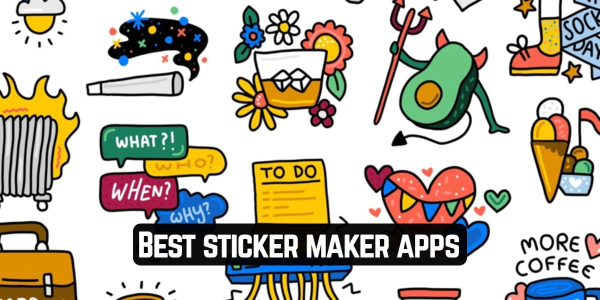 Best sticker maker apps