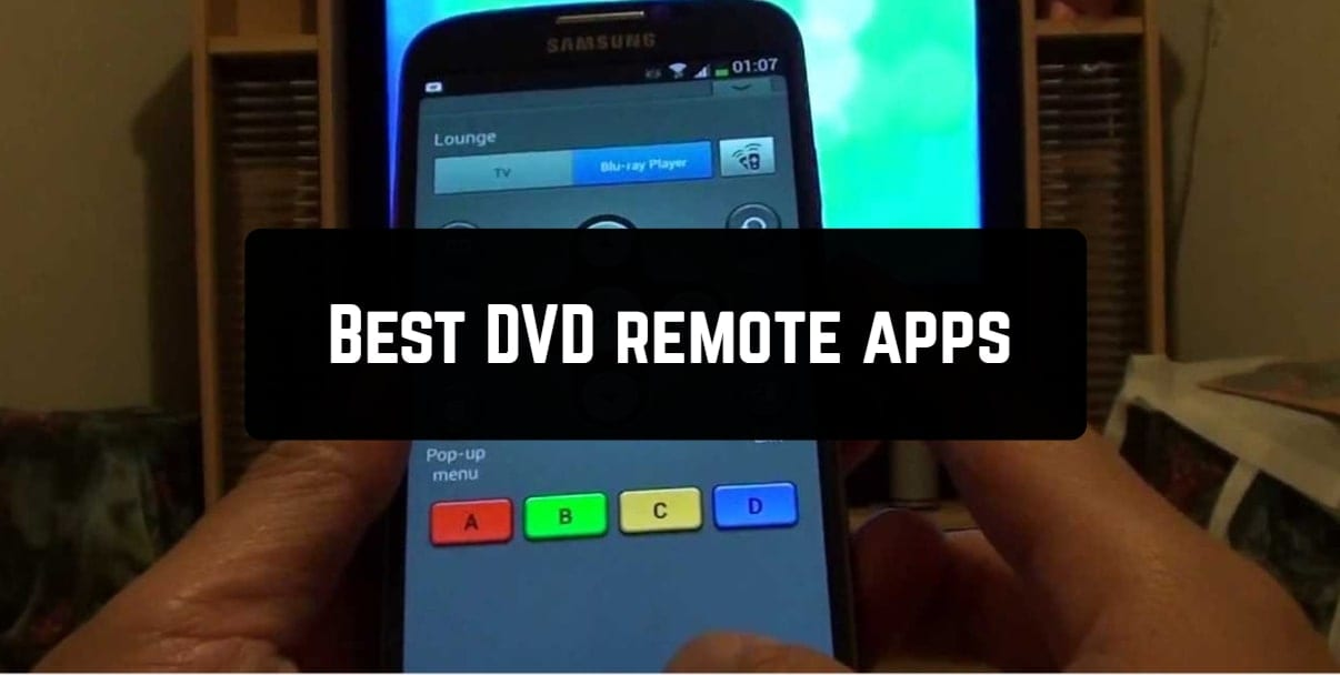 Best DVD remote apps