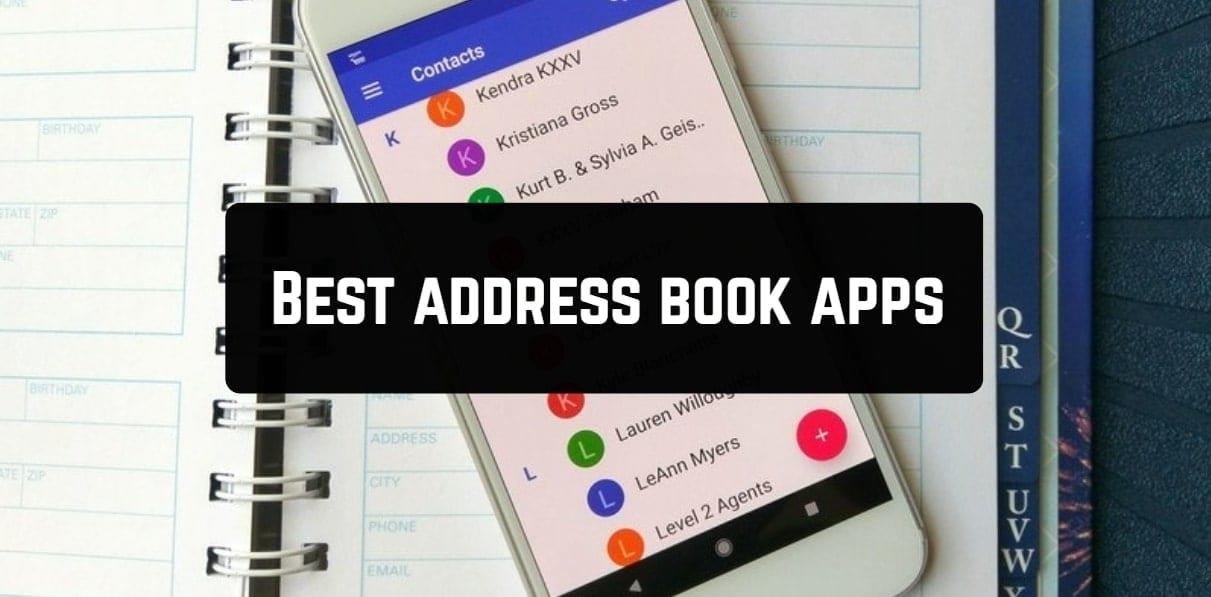 Best address book apps