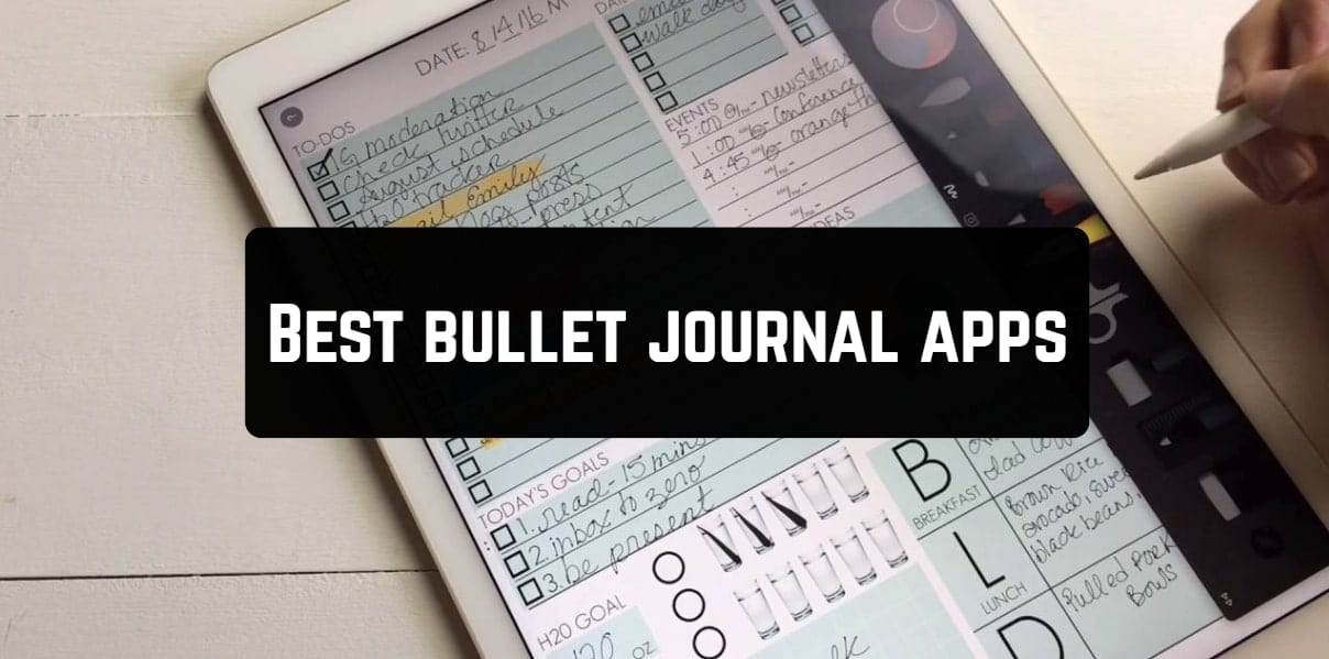 Best bullet journal apps