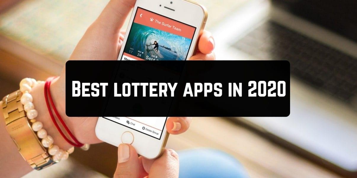 Best lottery apps in 2020