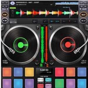 DJ Mixer Player Mobile logo