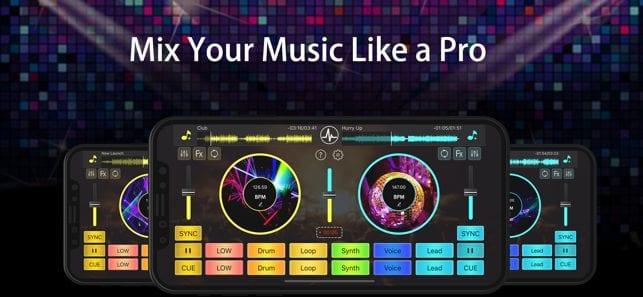 DJ Mixer Studio app