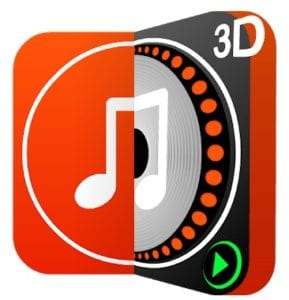 DiscDj 3D Music Player - 3D Dj Music Mixer Studio logo