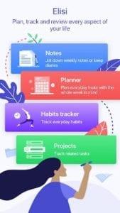 Elisi - Digital Bullet Journal App