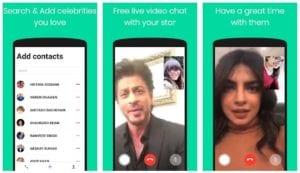 Fake video call Bollywood celebrities WeFlex India