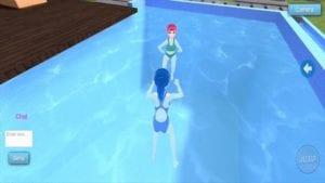 Miku Sakune Anime Girlfriend MMD Multiplayer