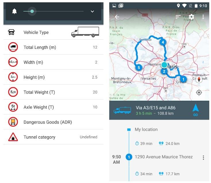 NavMeTo GPS Truck Navigation