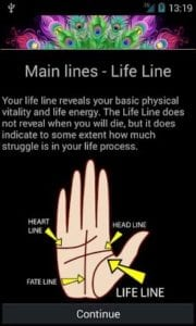 Palm Reading Personality Test