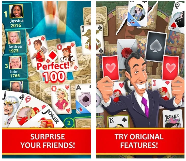 Solitaire Perfect Match app