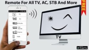 TV + AC + Set Top Box - Remote