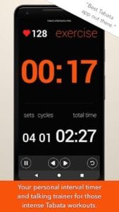 Tabata Timer and HIIT Timer for Interval Workouts
