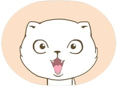 White Cat Animated Stickers