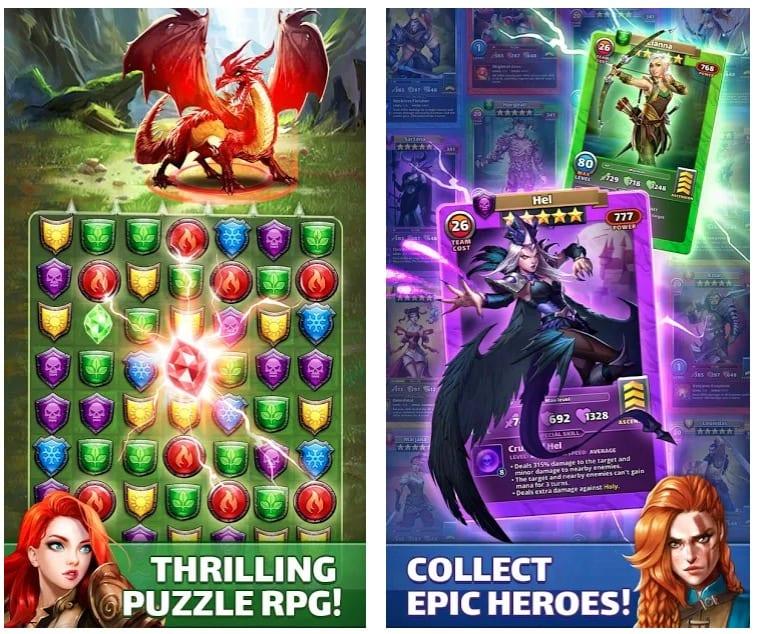 Empires & Puzzles app