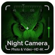 Night Camera Photo & Video – HD 4K