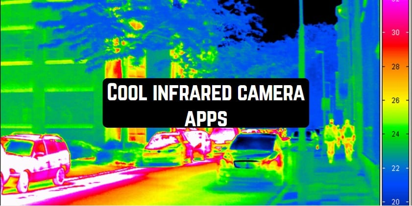 Cool infrared camera apps