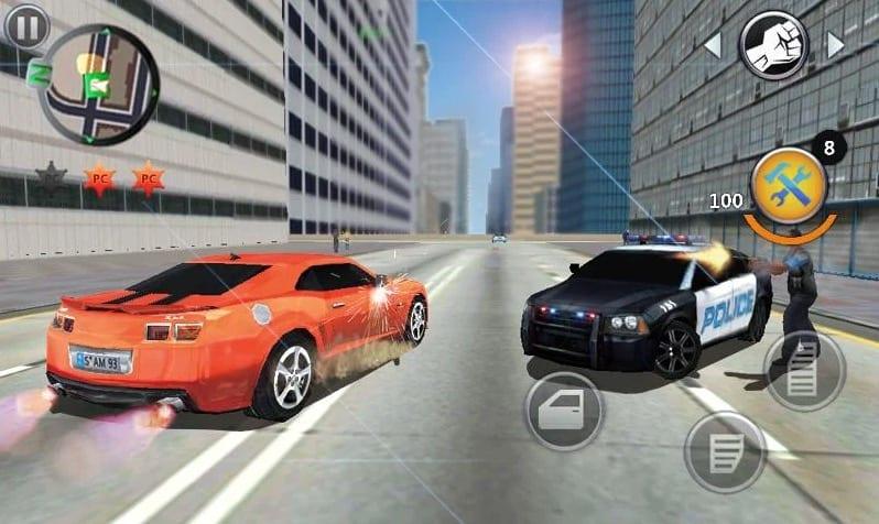 Grand Gangsters 3D app