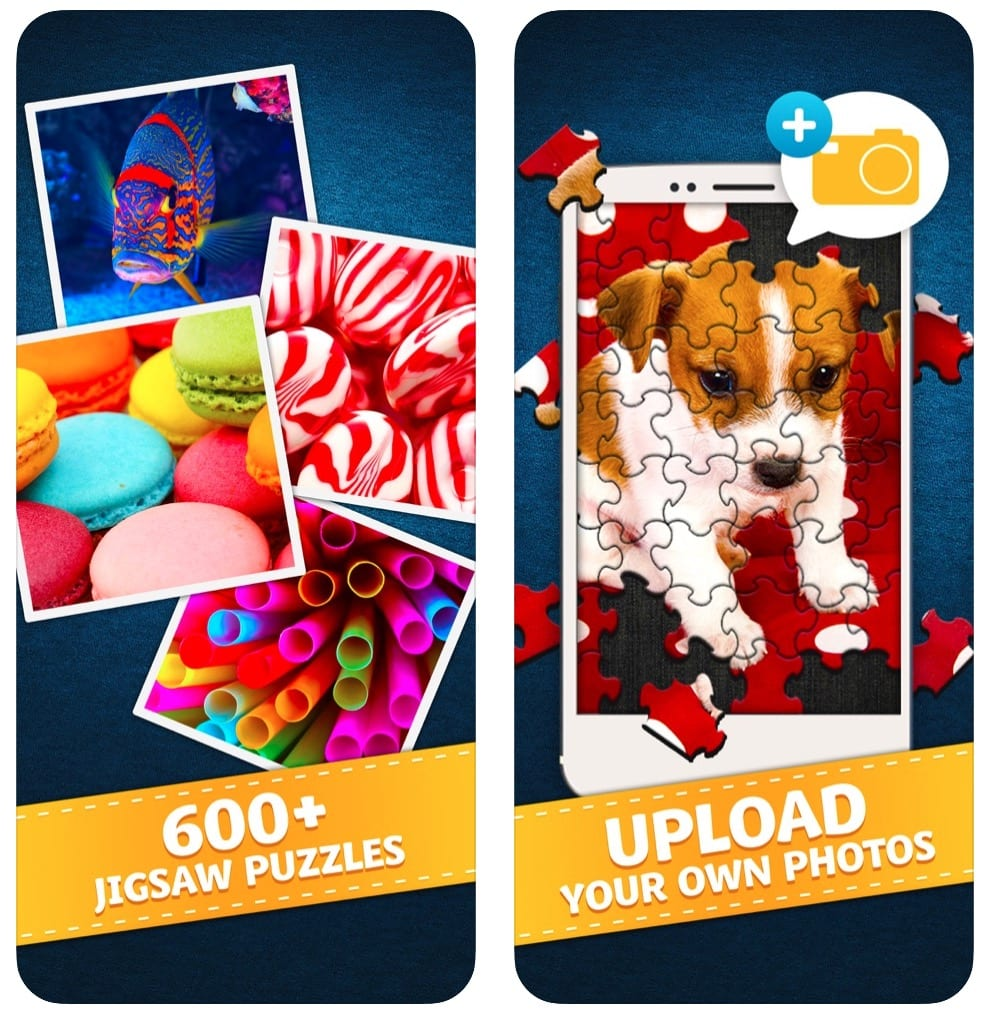 Jigty Jigsaw Puzzles app