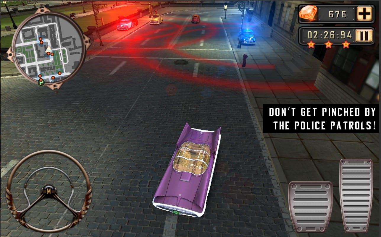 Mafia Driver - Omerta app