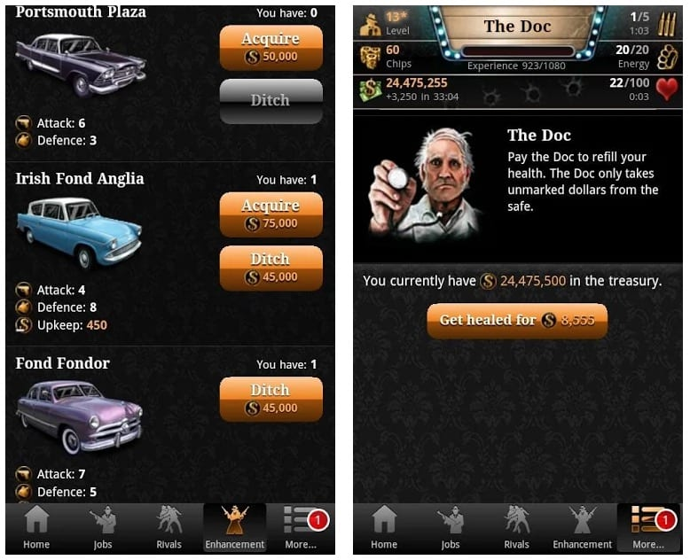Mafia Game app