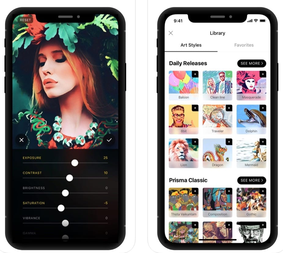 Prisma Photo Editor app