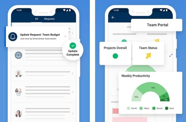 Smartsheet app