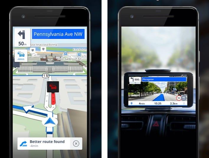 Sygic GPS Navigation & Maps app